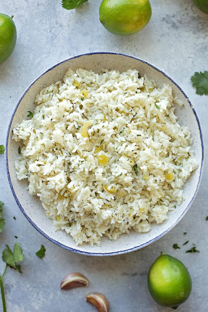 Cilantro Lime Rice | lifemadesimplebakes.com