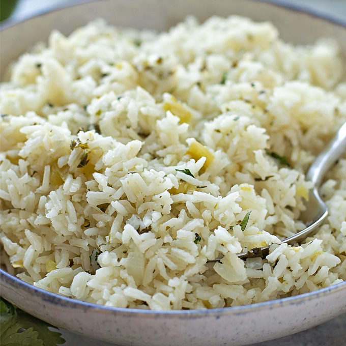 how to make cilantro and lime rice