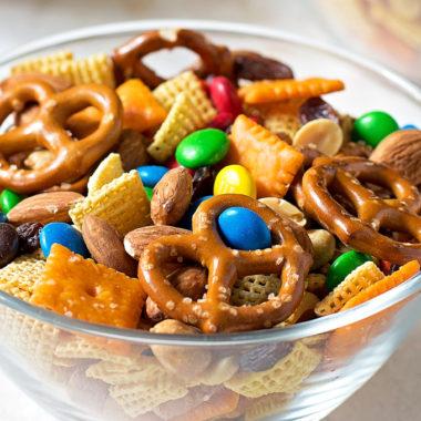 After School Snack Mix | lifemadesimplebakes.com