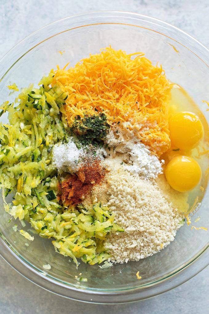 Cheesy Zucchini Tots | lifemadesimplebakes.com