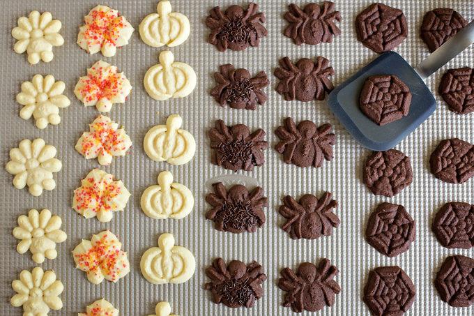 Fall Spritz Cookies   lifemadesimplebakes.com
