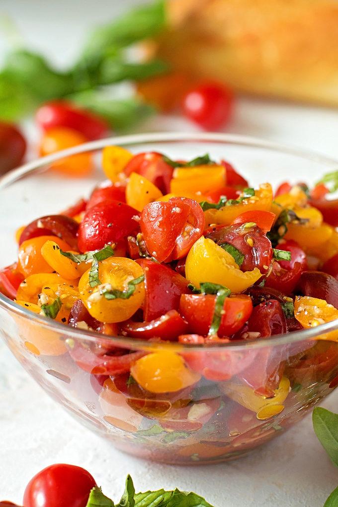 How To Make Fresh Bruschetta | lifemadesimplebakes.com
