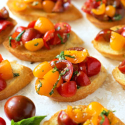 How To Make Fresh Bruschetta | lifemadesimplebakes.com