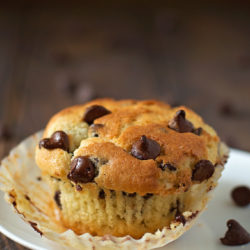 Perfect Chocolate Chip Muffins | lifemadesimplebakes.com