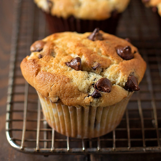 Perfect Chocolate Chip Muffins - Life Made Simple