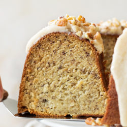 Best Ever Banana Bundt Cake | lifemadesimplebakes.com