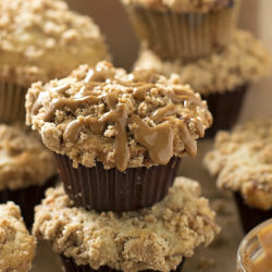 Biscoff Coffee Cake Muffins | lifemadesimplebakes.com