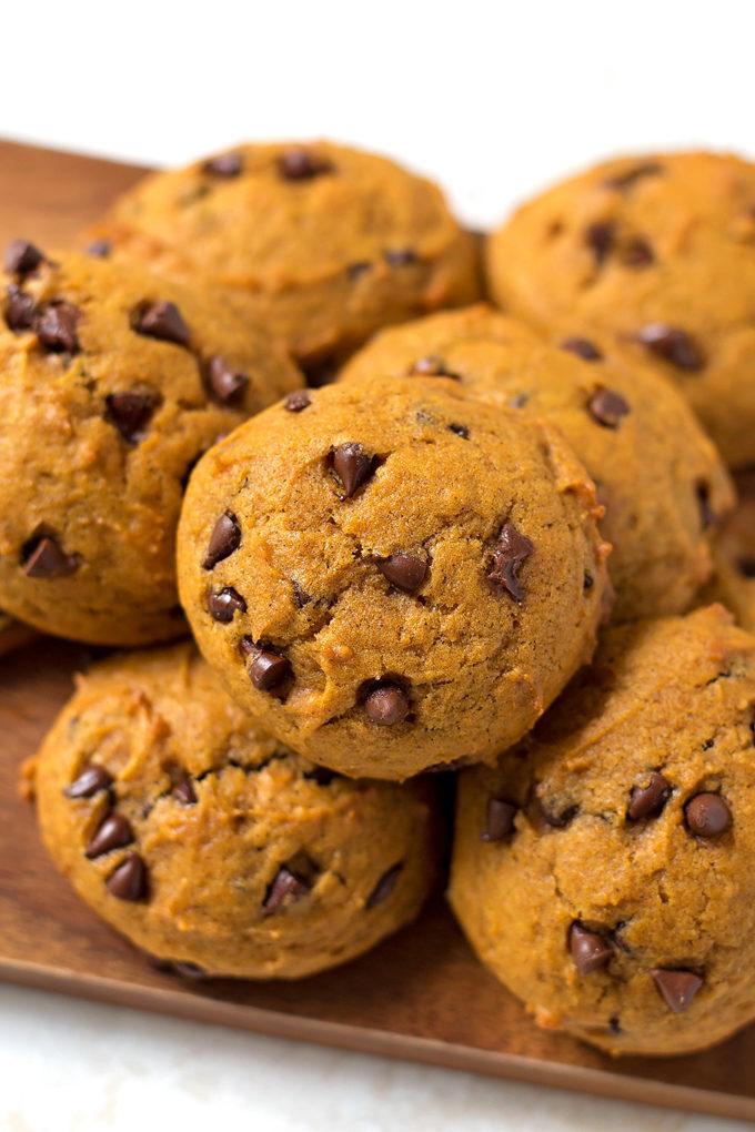 Harmons Pumpkin Chocolate Chip Cookies