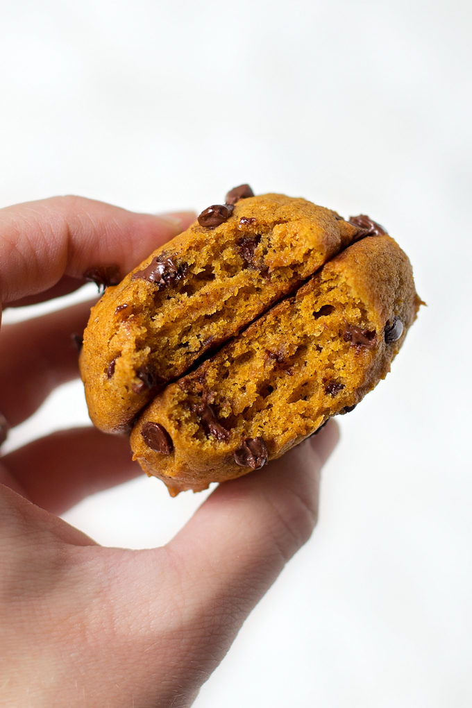 Copycat Harmons Pumpkin Chocolate Chip Cookies   lifemadesimplebakes.com