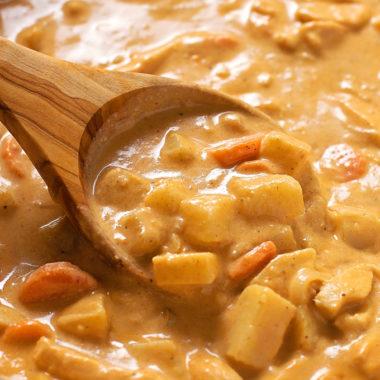 Homemade Massaman Curry | lifemadesimplebakes.com