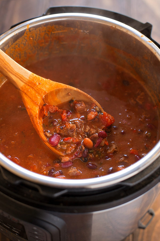 Insanely Good Instant Pot Beef Chili