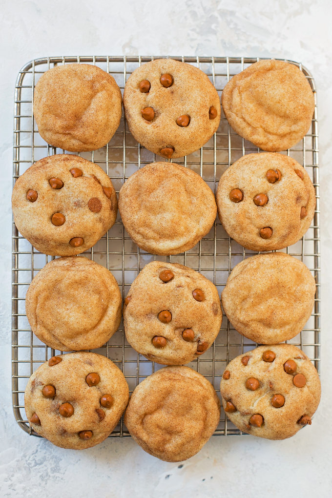 Browned Butter Snickerdoodles | lifemadesimplebakes.com