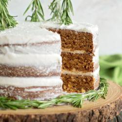 Gingerbread Spice Cake | lifemadesimplebakes.com
