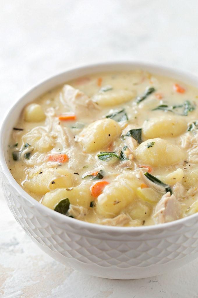 Chicken Gnocchi Soup   lifemadesimplebakes.com