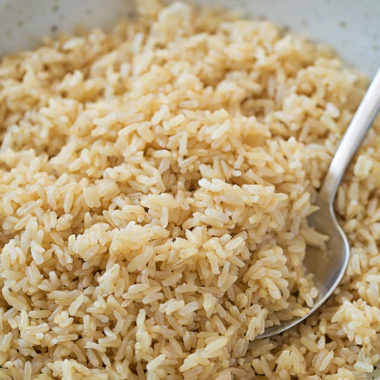 Instant Pot Brown Rice | lifemadesimplebakes.com