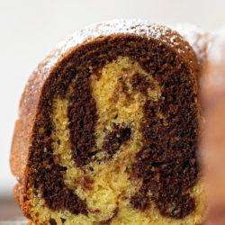 Marble Bundt Cake | lifemadesimplebakes.com