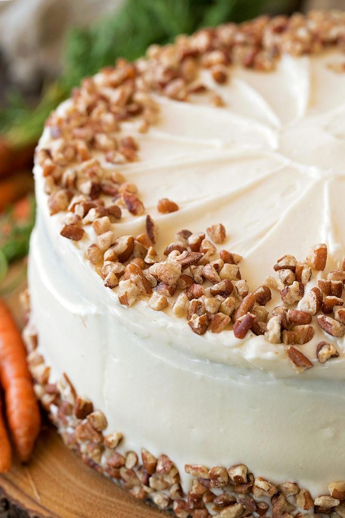 Classic Carrot Cake | lifemadesimplebakes.com