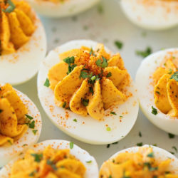 Dangerously Good Deviled Eggs | lifemadesimplebakes.com