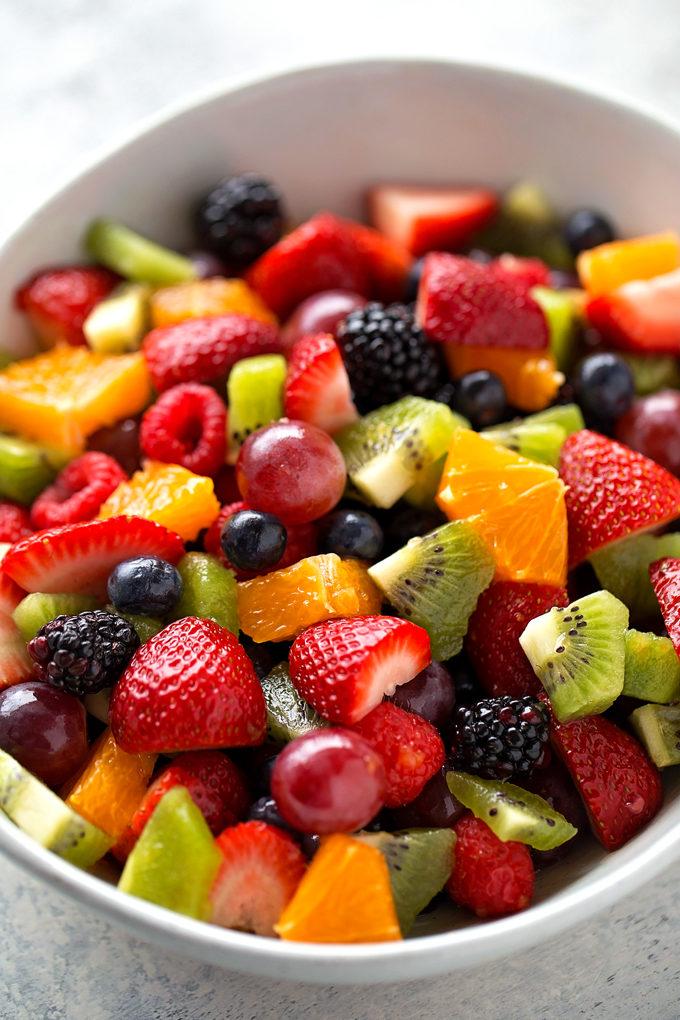 How To Make Fruit Salad   lifemadesimplebakes.com