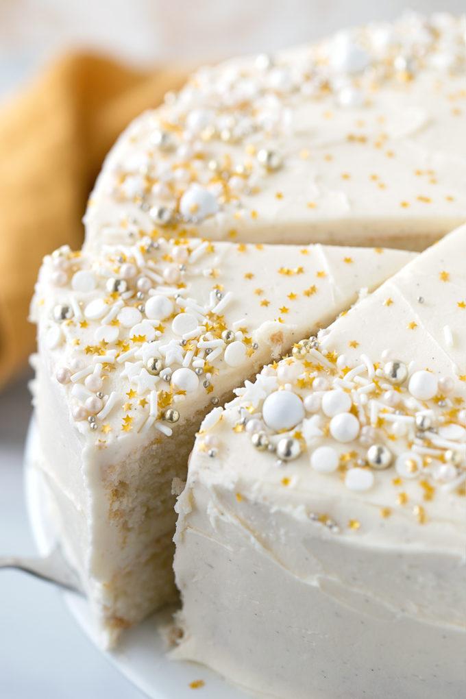 Cake Made From Egg Whites