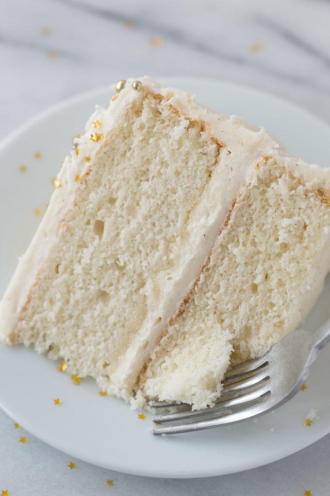 Perfect Vanilla Cake   lifemadesimplebakes.com