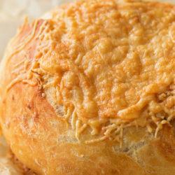 Garlic Parmesan Artisan Bread | lifemadesimplebakes.com