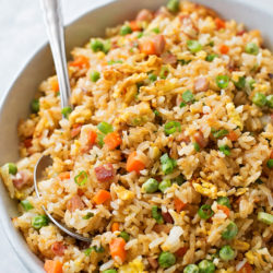 Ham Fried Rice | lifemadesimplebakes.com