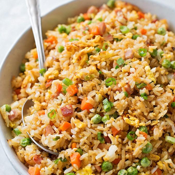Easy Ham Fried Rice