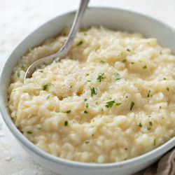 Instant Pot Weeknight Risotto | lifemadesimplebakes.com