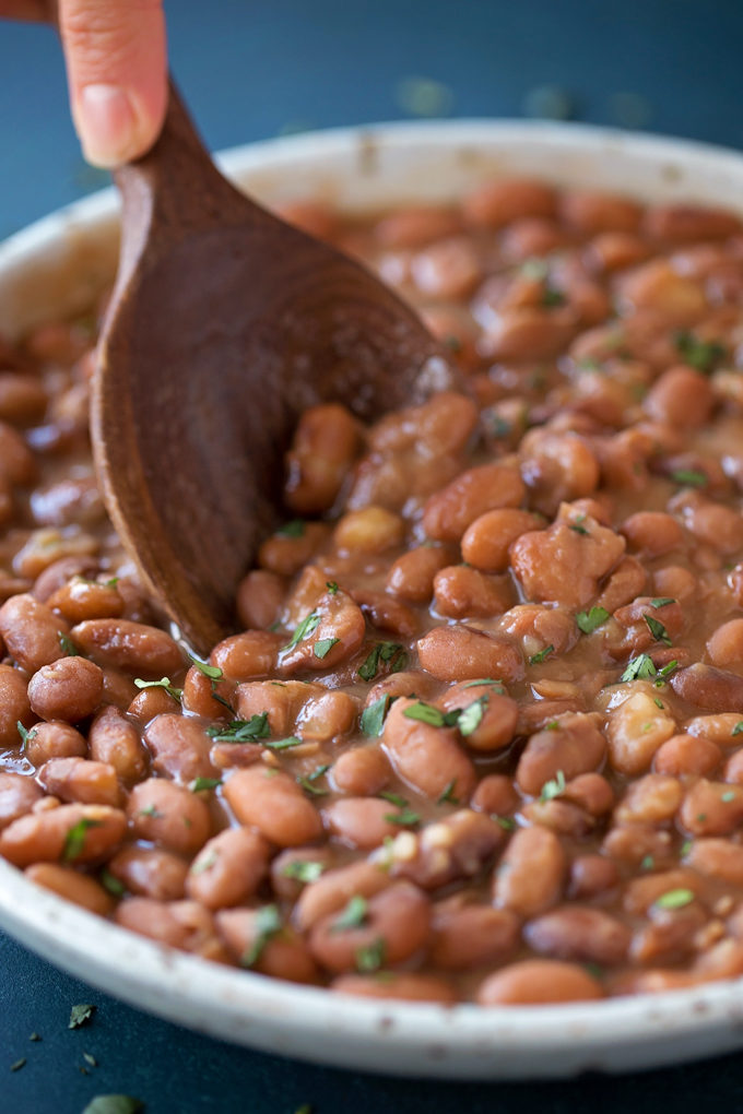 No Soak Instant Pot Pinto Beans   lifemadesimplebakes.com