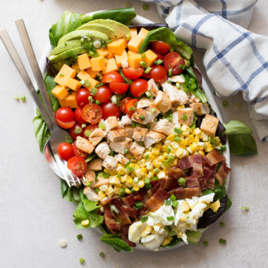 Amazing Cobb Salad | lifemadesimplebakes.com