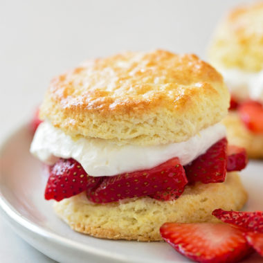 Classic Strawberry Shortcakes | lifemadesimplebakes.com