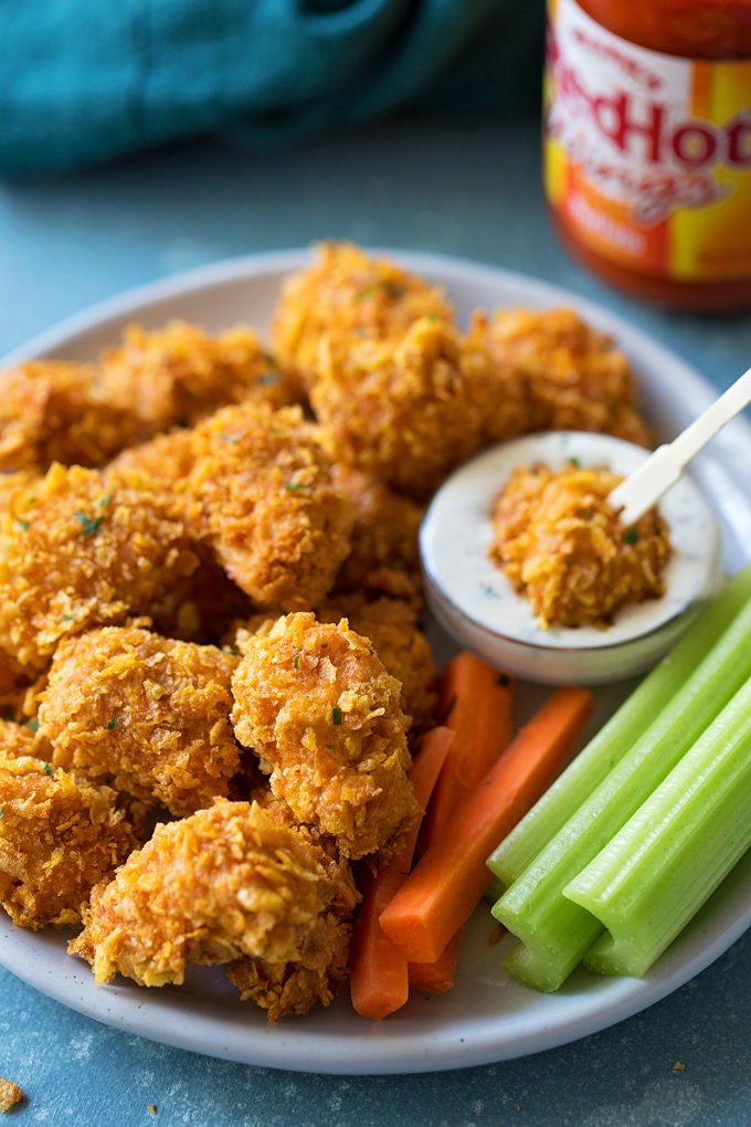 Crispy Buffalo Chicken Nuggets Life Made Simple