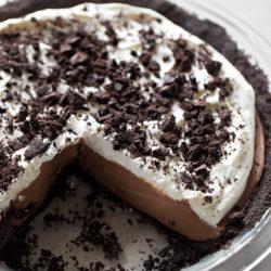 No-Bake Mud Pie | lifemadesimplebakes.com