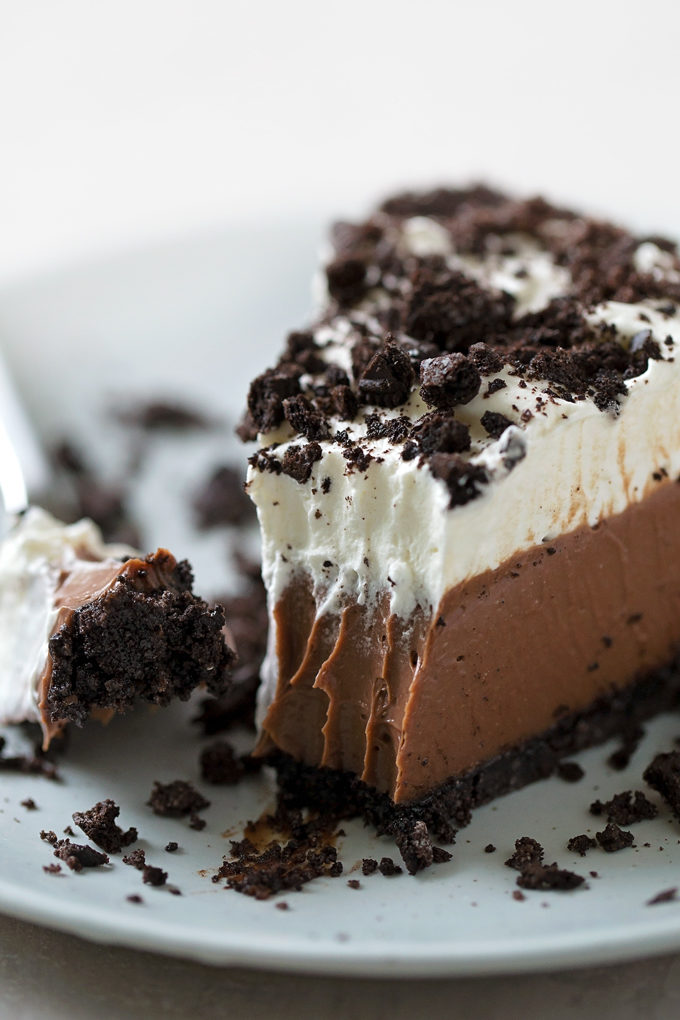 No-Bake Mud Pie | lifemadesimplebakes.com