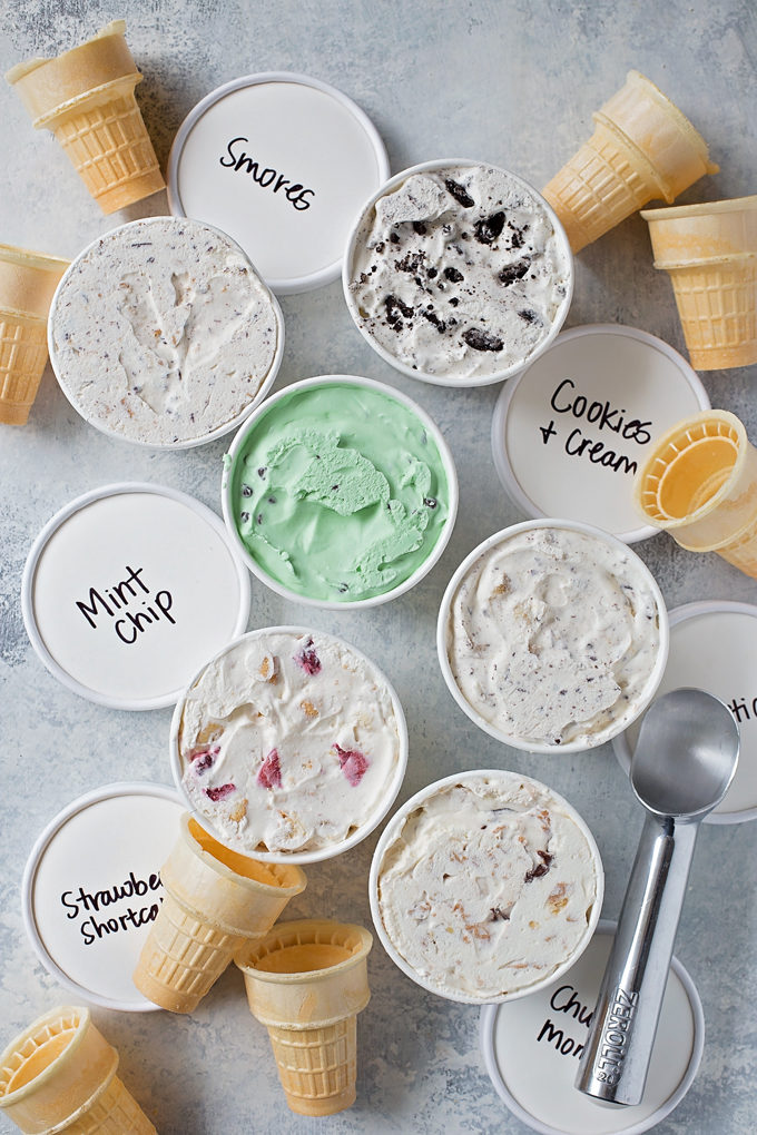 Easy No-Churn Ice Cream | lifemadesimplebakes.com