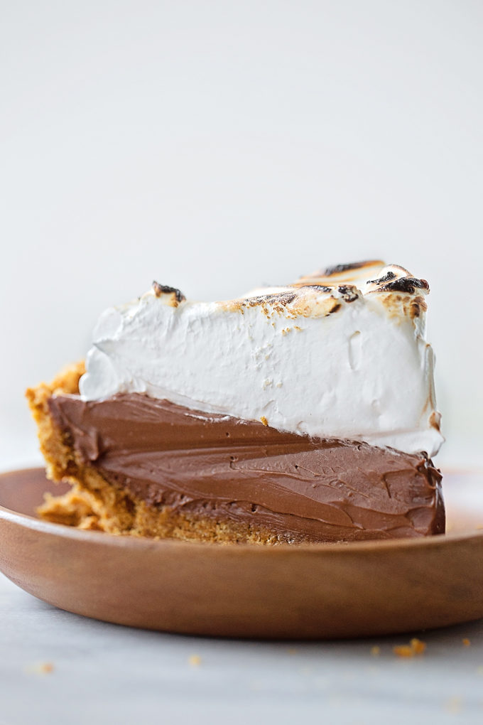 No-Bake S'mores Pie   lifemadesimplebakes.com