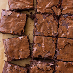 Chewy Brownies | lifemadesimplebakes.com