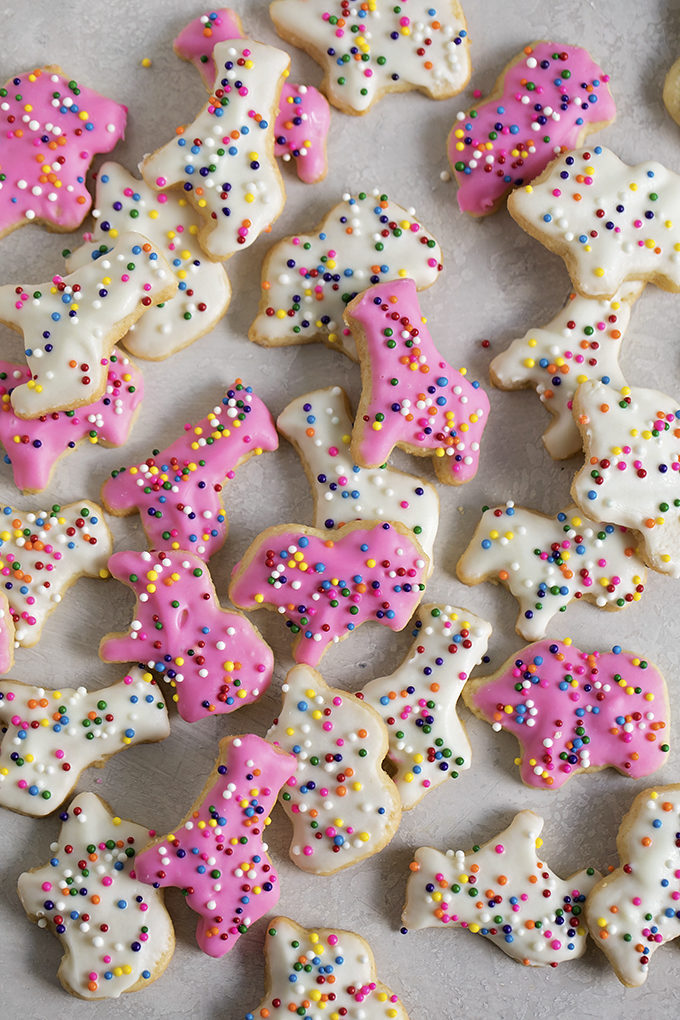 Frosted Animal Cookies - Life Made Simple