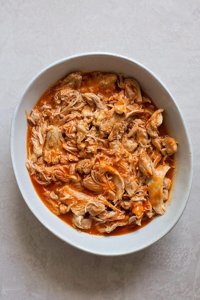 Instant Pot Buffalo Chicken Sliders | lifemadesimplebakes.com