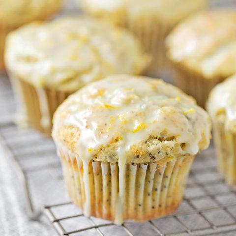 Perfect Lemon Poppy Seed Muffins