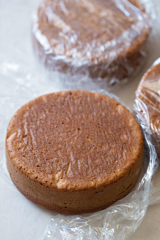 S'mores Layer Cake | lifemadesimplebakes.com