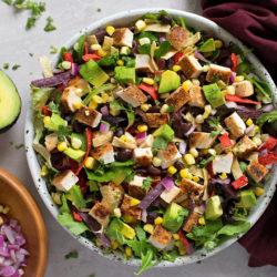 BBQ Chicken Salad | lifemadesimplebakes.com