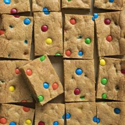 M&M cookie bars. | lifemadesimplebakes.com