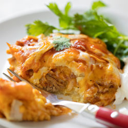 Pork Tamale Casserole. | lifemadesimplebakes.com