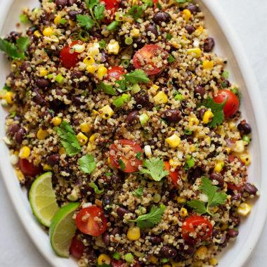 Southwestern Quinoa Salad. | lifemadesimplebakes.com