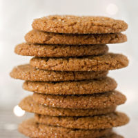 Sparkling Ginger Molasses Cookies