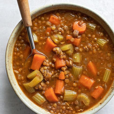 Easy Vegetable Lentil Soup
