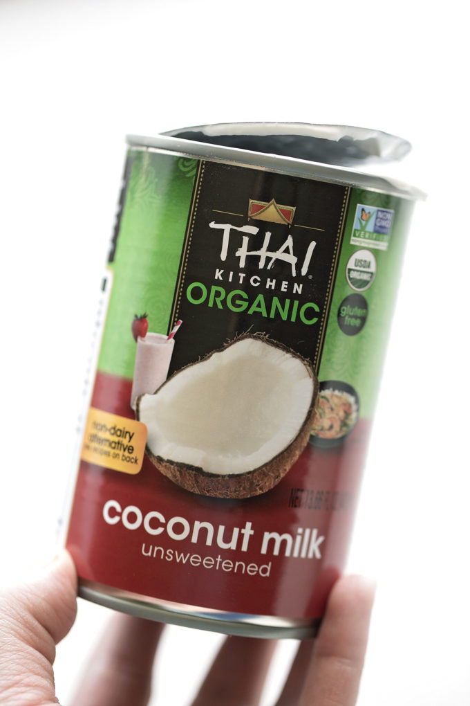 A can of full-fat unsweetened coconut milk for the filling of perfect coconut cream pie.