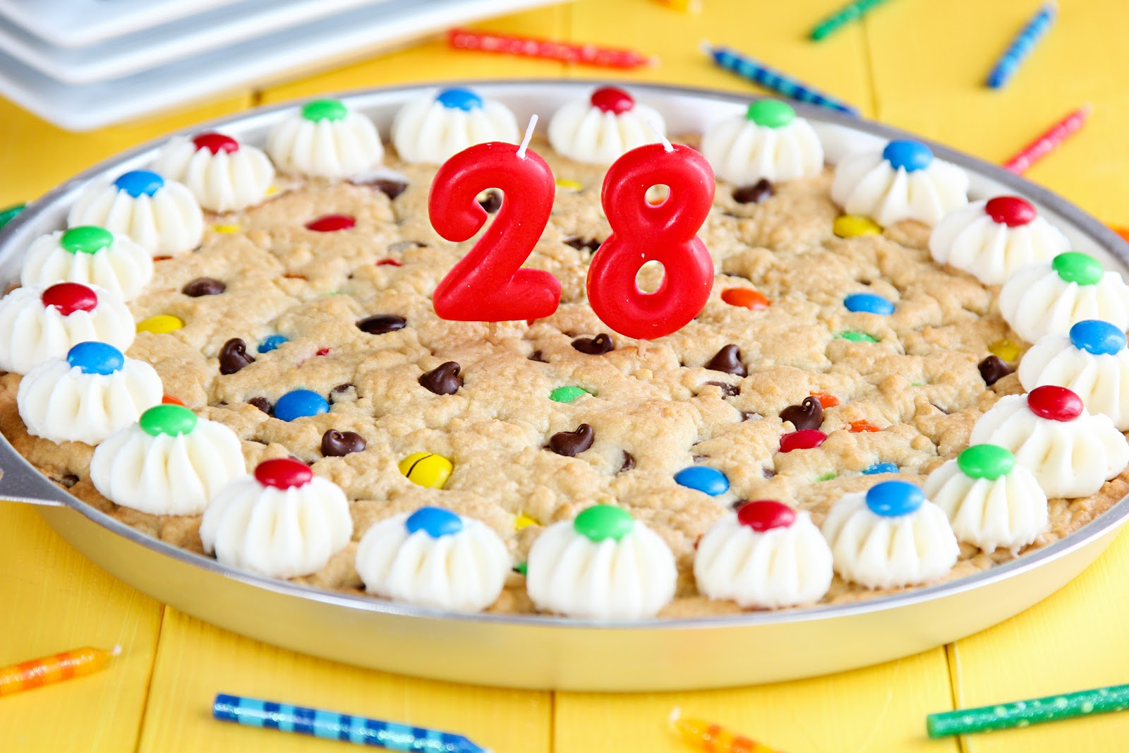 Hes 28 A Cookie Cake